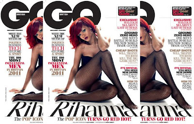 Rihanna Covers The Latest Issue Of Both British GQ Magazine & Interview Magazine