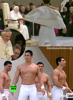 Pope Likes Them Tight