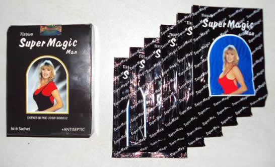pasutri Produk Super Magic Tissue