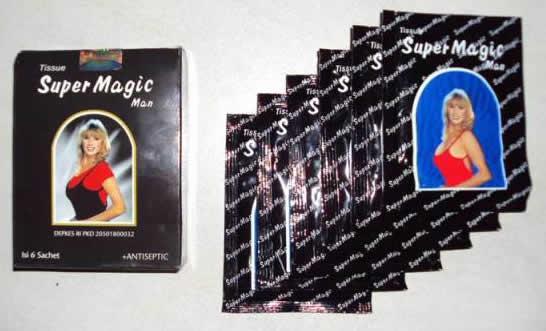 pasutri Produk Super Magic Tissue