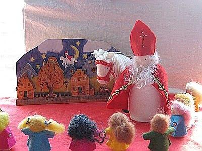 Sinterklaas op de seizoentafel