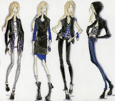 Wallpaper World Fashion Illustration By Fashion Designers