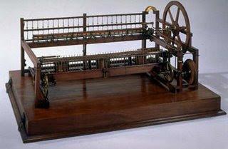 Primer telar mecánico de Edmund Carwright