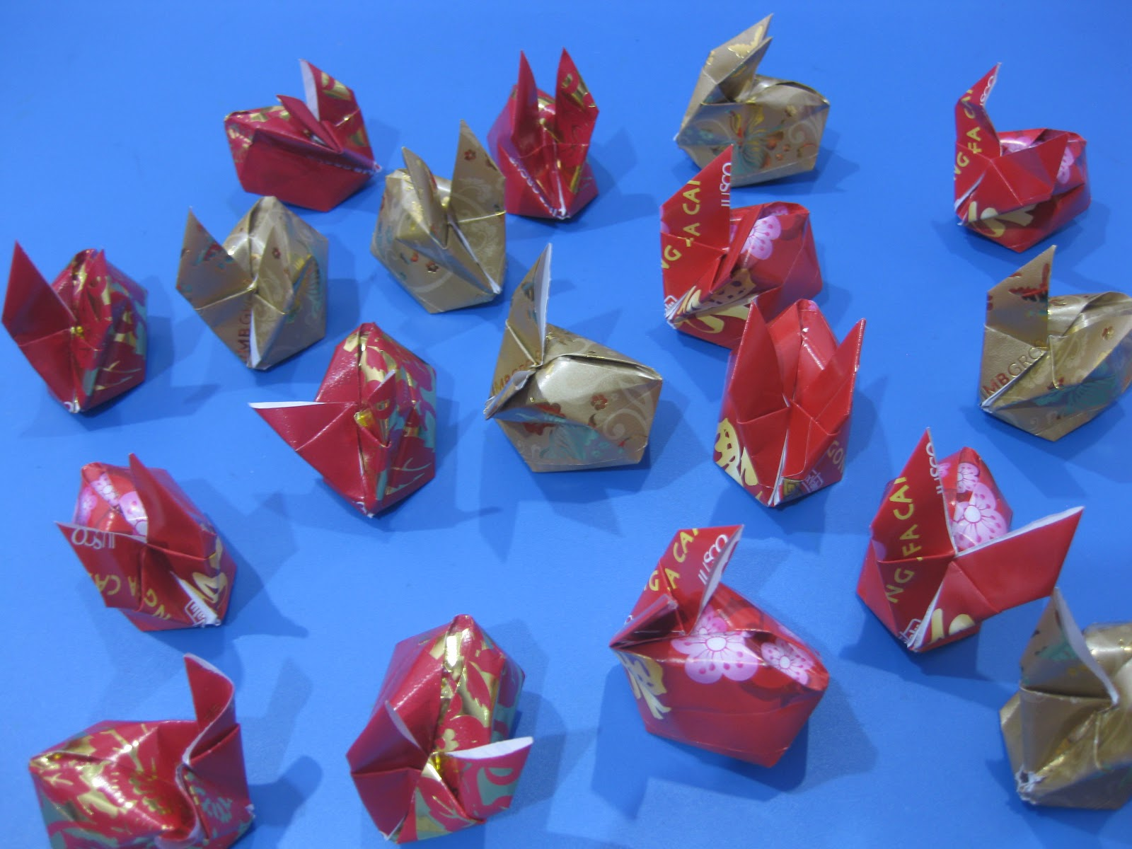 Chinese new year craft angpow rabbits parenting times for Ang pao origami