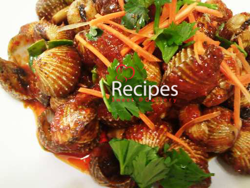 Sweet@Recipes Gallery by ~ IZaN: Kerang masak paprik