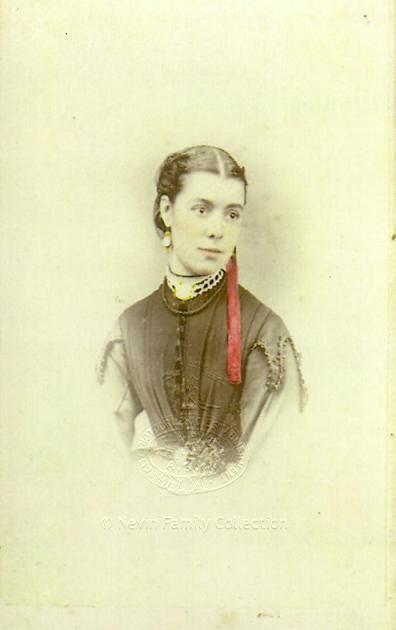 Elizabeth Rachel Nevin nee Day 1870