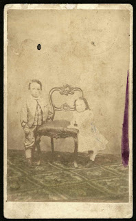 Nevin & Smith children album 1868