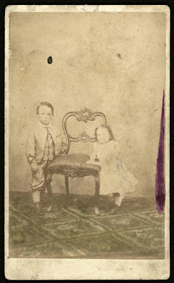 Nevin & Smith children album 1868