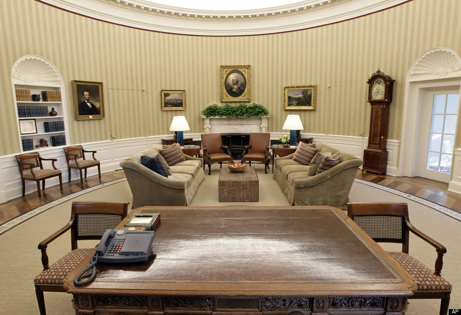 Redecoration Of The Oval Room White House American Empire And Federal Style