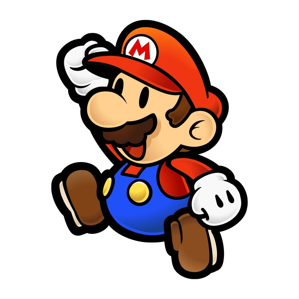 Paper mario the thousand year door coloring pages
