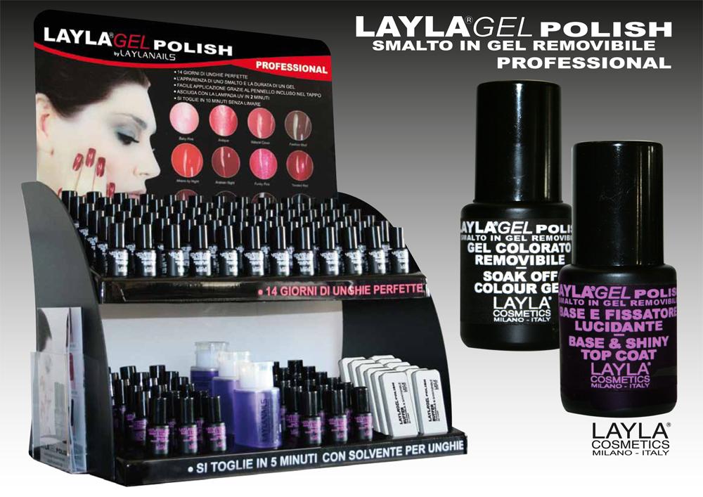 0bd45c753f76b9 Novitá Layla Cosmetics: Layla Gel Polish - Passione makeup