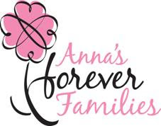 THANK YOU GOD for blessing us with a grant through Anna's Forever Families!