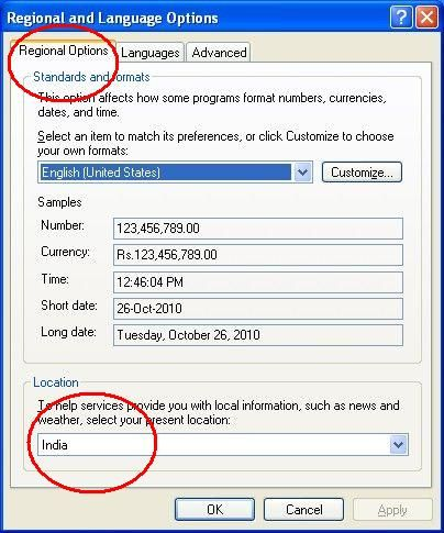 VinoPall: Activating Marathi/Hindi (UNICODE) on your Windows-XP