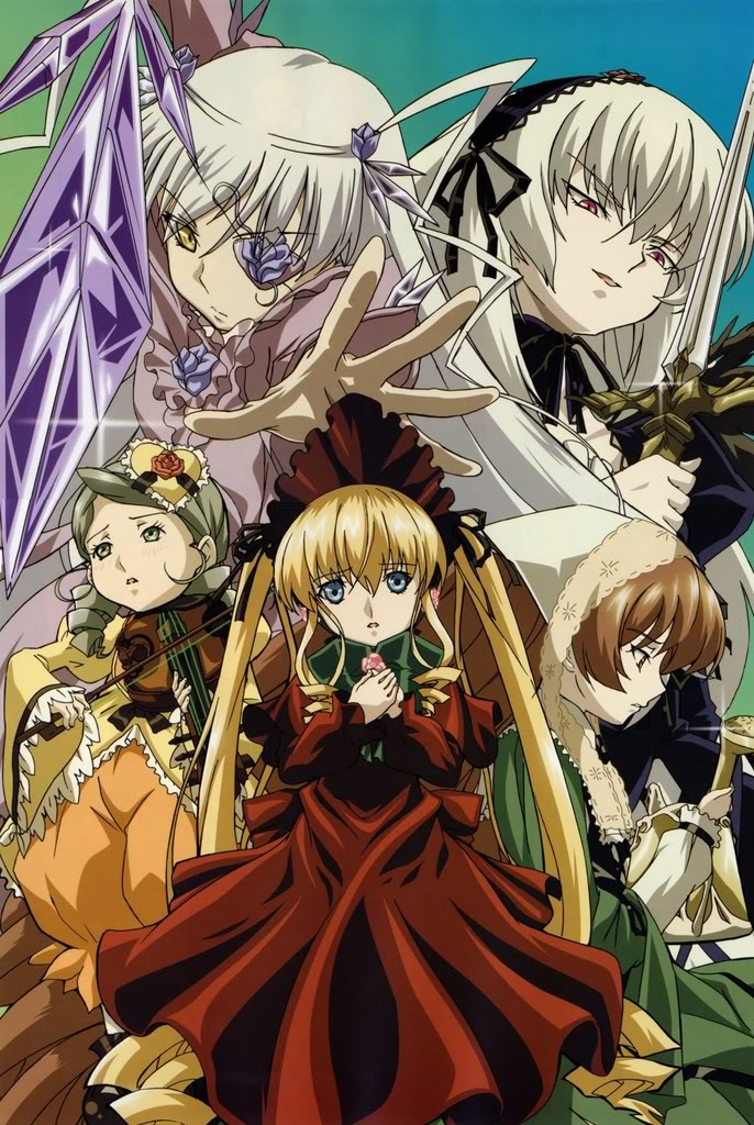 Un Wallpaper Al Dia Rozen Maiden Team Iopa