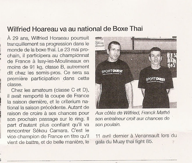 ARTICLE OUEST FRANCE DU 20/05/09