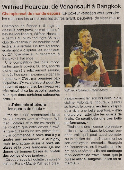ARTICLE DU 25.11.09 OUEST FRANCE