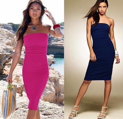 2fe8a0f413f J  Adoré   SOLD  Victoria s Secret Bra Top Tube Dress