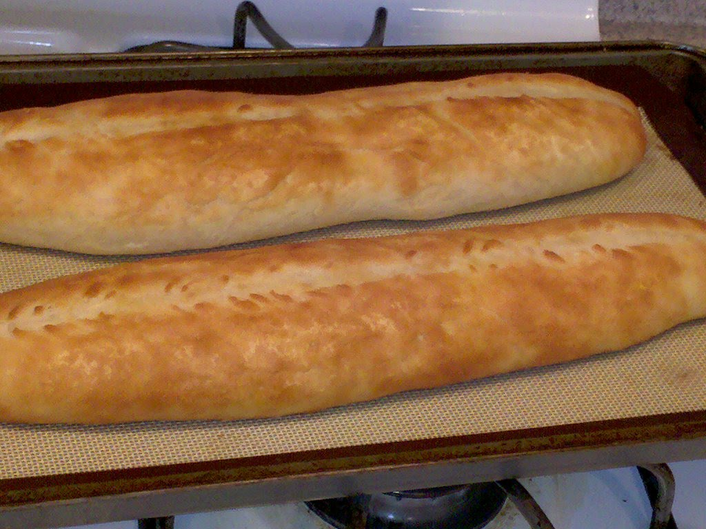 The Cooking Chicks: Quick and Easy French Baguettes
