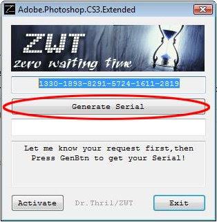 Adobe photoshop cs3 authorization code crack | SOLVED