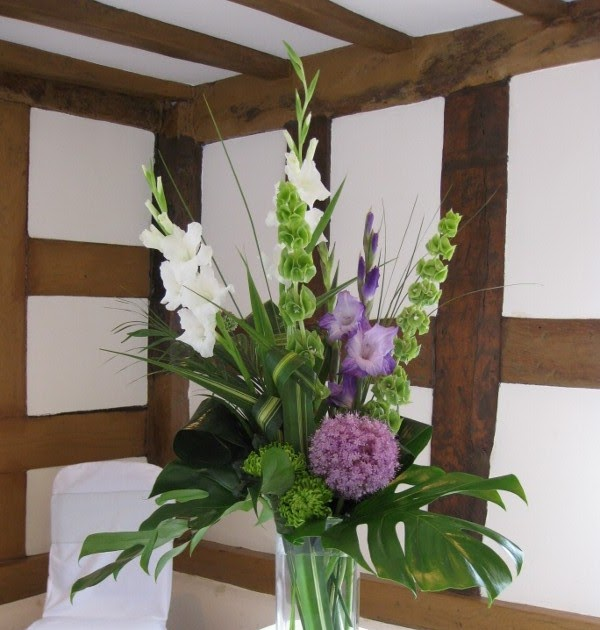 Laura Coleman Flowers: Striking Purple And Lime At Laura