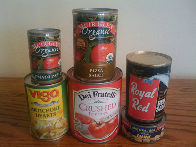 Organic Canned Foods Loaded with BPA