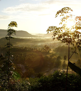 14th October 2006. View over Kathu from Patong hill. Not wet.