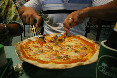 Pizza at Thai-Italy in Patong