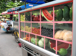 Fruit stand in Thailand
