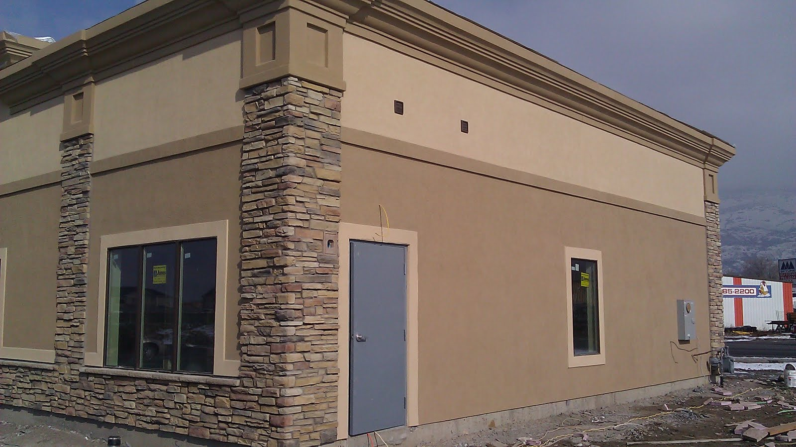 Stucco Tech All American Construction Bingham Chiropractic