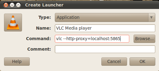 Media Streaming using VLC under Proxy Authentication