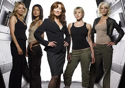 The girls of Battlestar Galactica