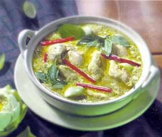 Thai Food Recipes Chicken Green Curry Kang Keaw Wan Kai