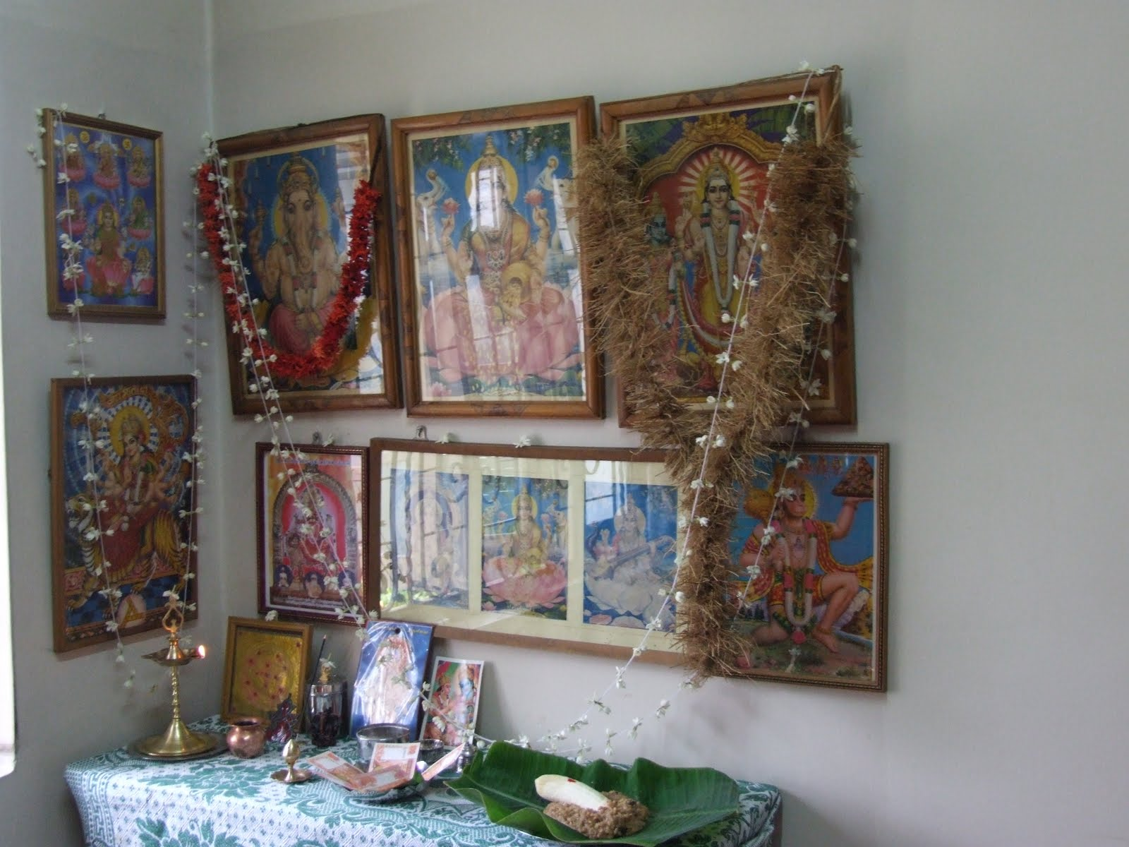 Decorated Shrine Room For The New Year