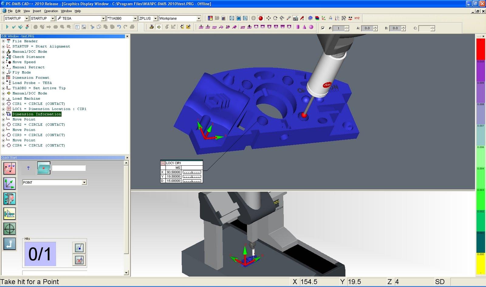 Hexagon Metrology Releases PC-DMIS 2010