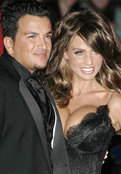 Katie Price denied love making to Peter Andre!