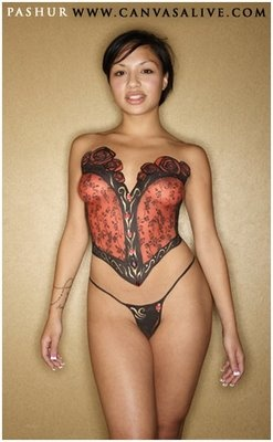 Body Painting Ideas Hollywood Lifestyles