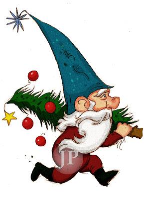 My Children's Illustration Portfolio: Christmas Gnomes