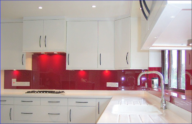 Dark Red Kitchen Cabinets Super Modern - Kitchens Andrine