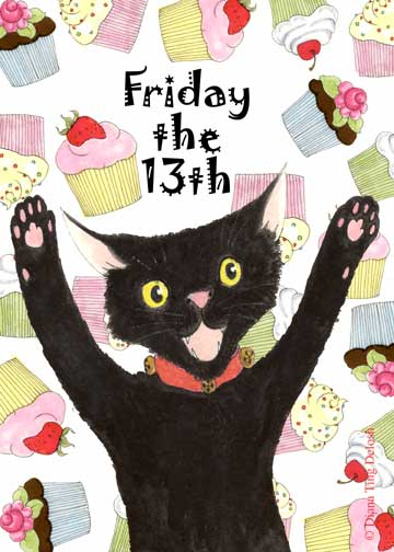 The Hare Illustratère: Friday the 13th!