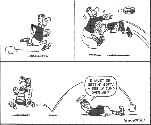 Moosemen Rugby: Andy Capp Sunday