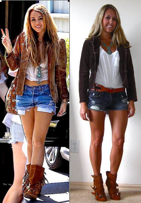 J's Everyday Fashion: October 2010Miley Cyrus Bohemian Style