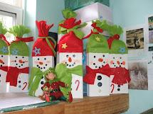 Donna' Busy Hands Snowman Craft