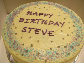 A Ginger And Guinness Cake For Steve Happy Birthday Thanks So Much All Your Help