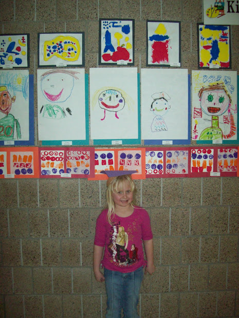 Kindergarten January Art Projects