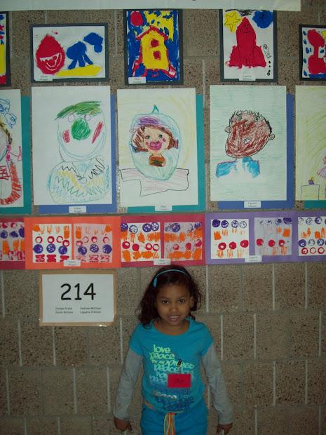 Kindergarten Art Gallery