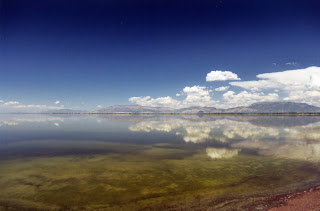 Reflections on Great Salt Lake (c) 2006 lawhawk