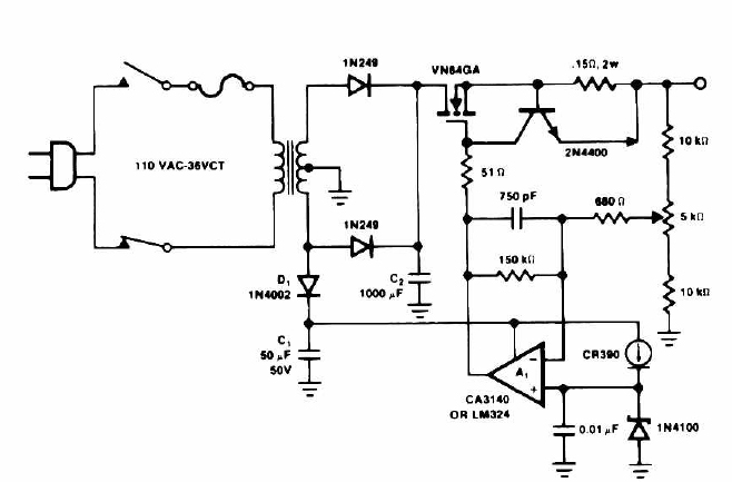 14 Volt Battery Charger Circuit Power Amplifier