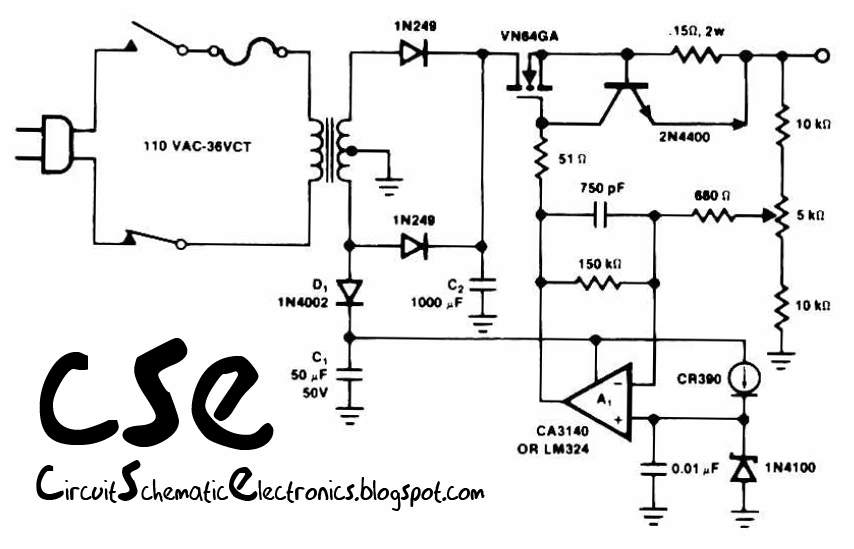 Power Drive Battery Charger Schematic, Power, Get Free