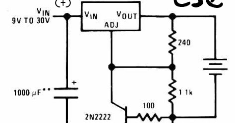 Simple 6V charger battery circuit ~Circuit diagram