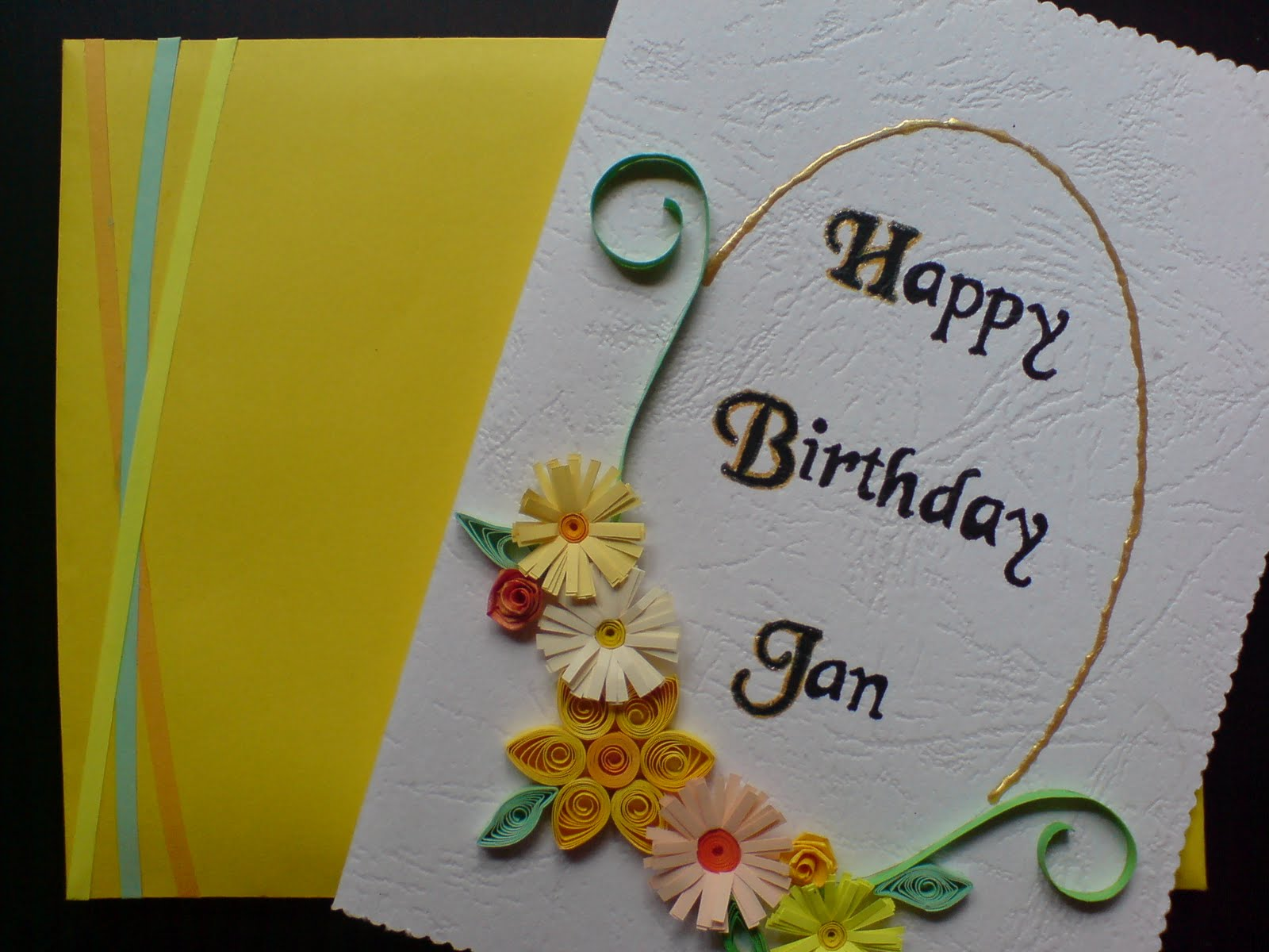 Handmade Greeting Cards: Birthday Card